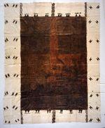 Ngatu 'uli (black tapa cloth)