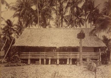 Traders House Pleasant Island. From the album: Views in the Pacific Islands