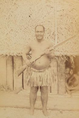 Pleasant Island Chief. From the album: Views in the Pacific Islands